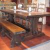 Table de cuisine réfectoire